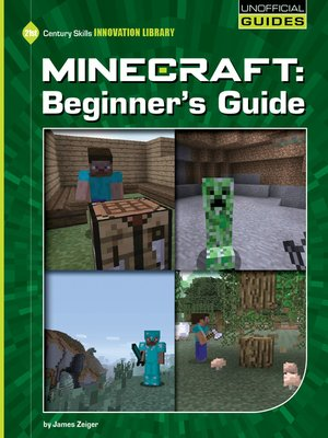 cover image of Minecraft Beginner's Guide
